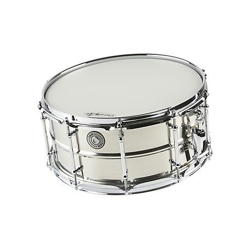 Taye Drums MetalWorks Stainless Steel Snare Drum with Vintage Style Tube Lugs