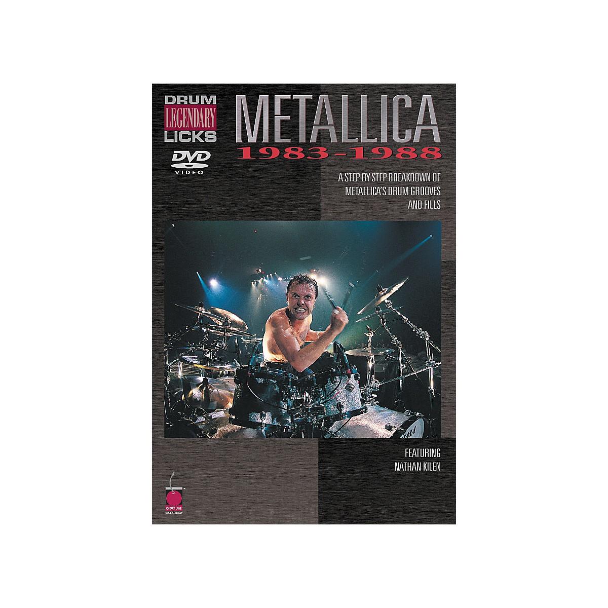 Cherry Lane Metallica - Drum Legendary Licks 1983-1988 DVD