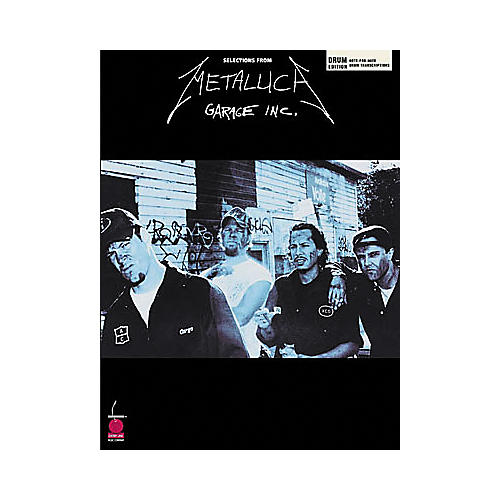 Hal Leonard Metallica - Garage Inc. Drum Book