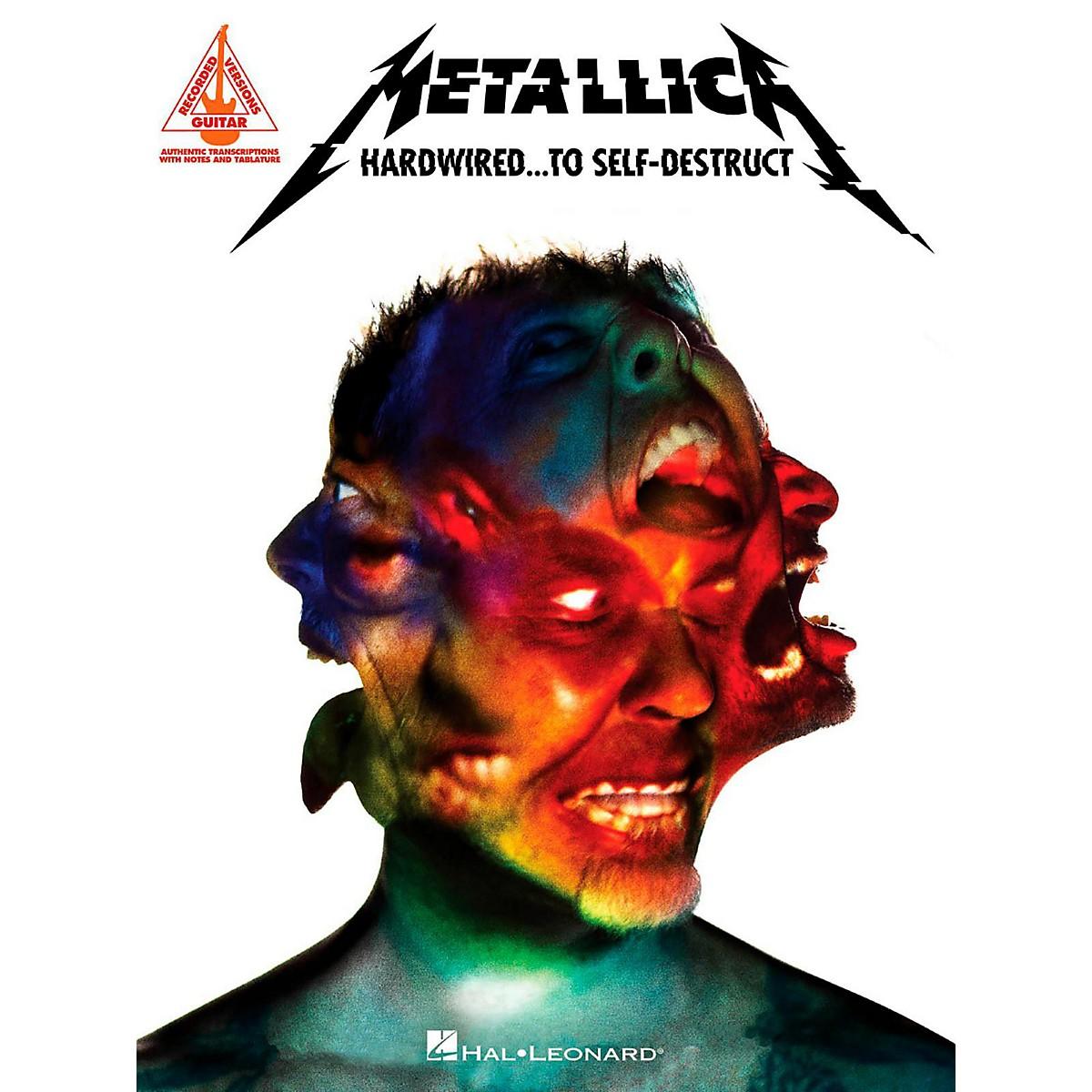 Hal Leonard Metallica - Hardwired...To Self-Destruct Guitar Tab Songbook