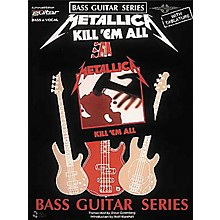 Cherry Lane Metallica - Kill 'em All Bass Guitar Series Tab Songbook