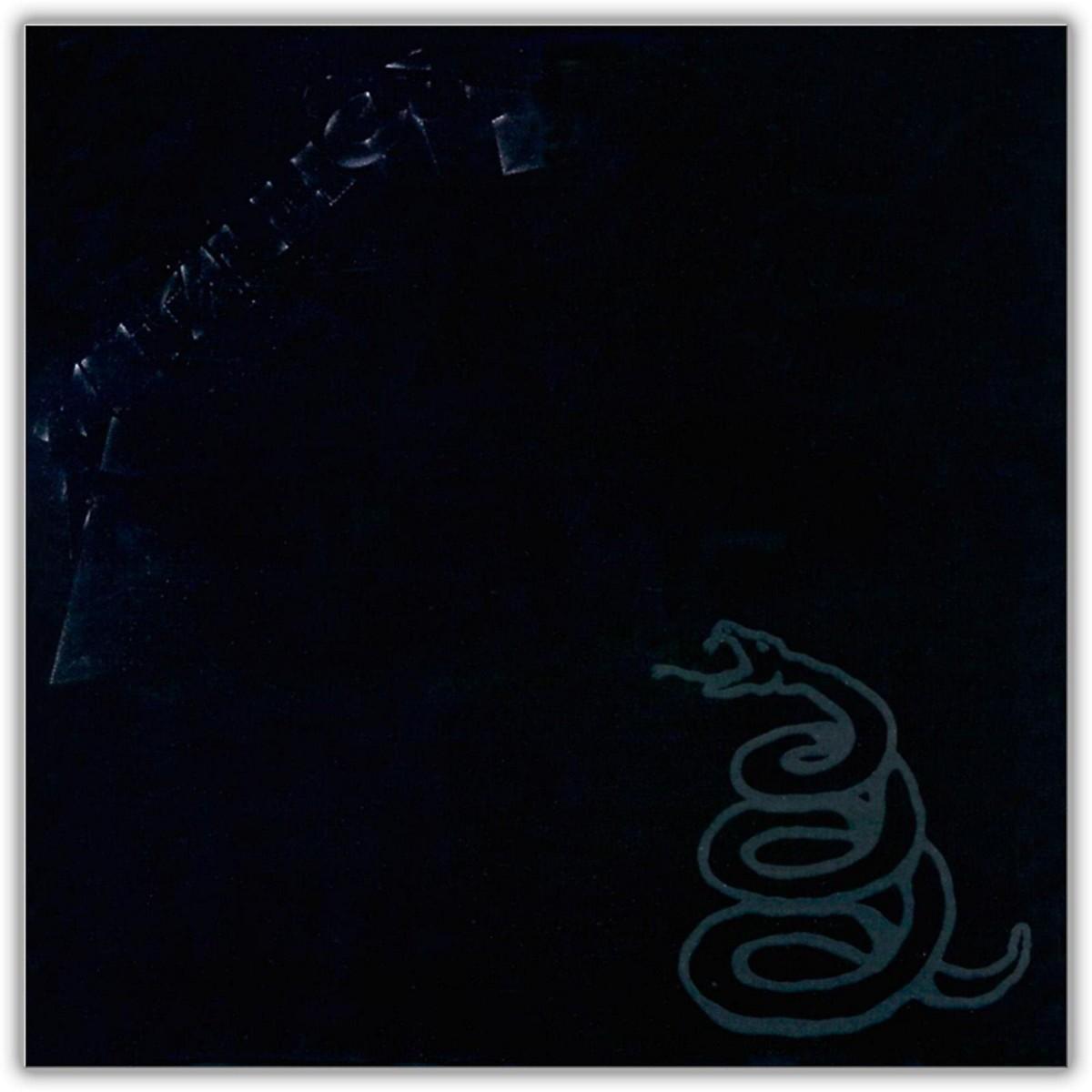 WEA Metallica - Metallica (The Black Album) Vinyl LP