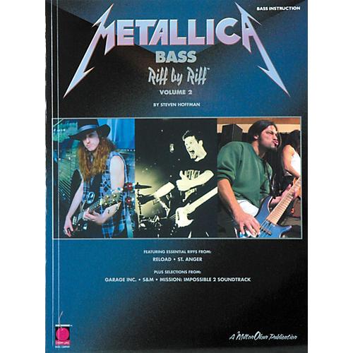 Cherry Lane Metallica Bass Riff by Riff Volume 2 Book