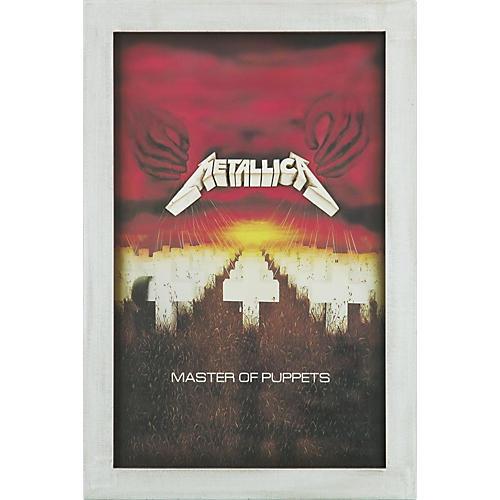 Gear One Metallica 'Master of Puppets' 3-D Resin Wall Art
