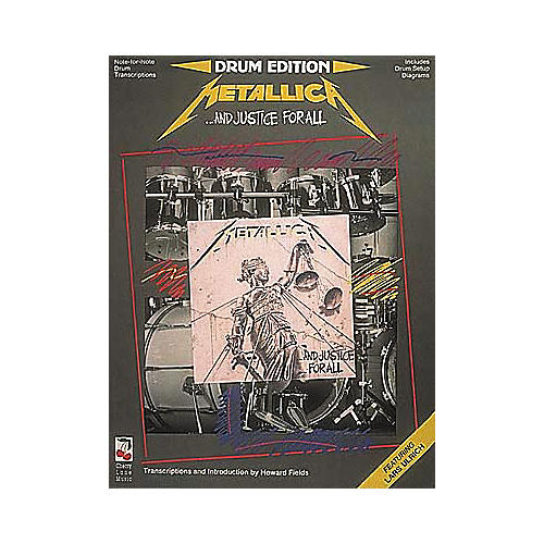 Hal Leonard Metallica...And Justice For All Drum Book