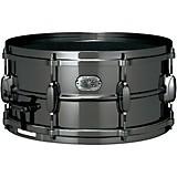 TAMA Metalworks Nickel-Plated Black Steel Snare Drum Black 6.5x14