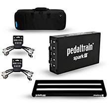 Pedaltrain Metro 24 Pedalboard Bundle with Spark Power Supply, Cables and Bag