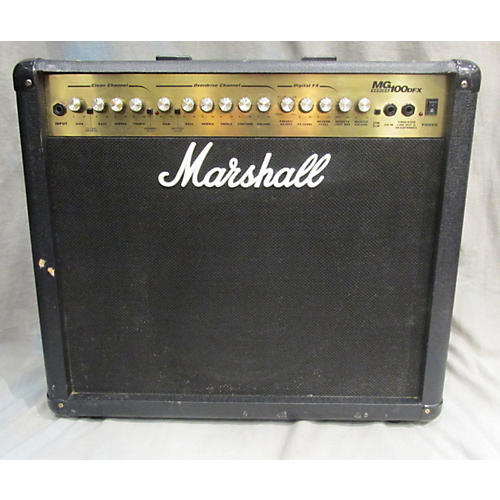 Marshall Mg100dfx Guitar Combo Amp