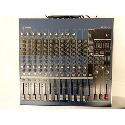 Yamaha Mg166fx Unpowered Mixer