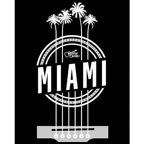 Guitar Center Miami Palm Strings Sticker