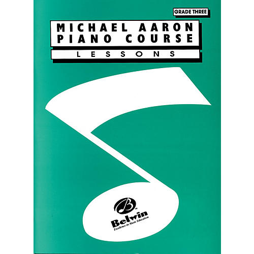 Alfred Michael Aaron Piano Course Lessons Grade 3