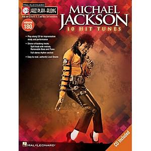 Hal Leonard Michael Jackson - Jazz Play-Along Volume 180 Book/CD by Hal Leonard