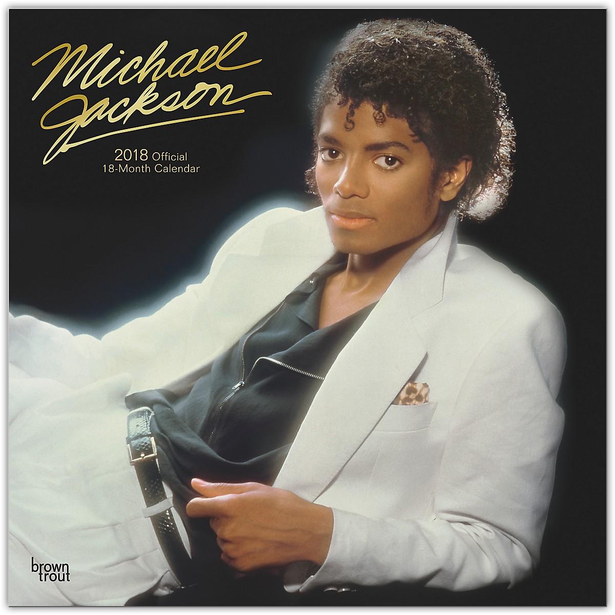 Browntrout Publishing Michael Jackson 2018 Wall Calendar