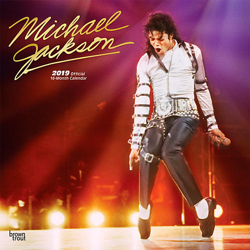 Browntrout Publishing Michael Jackson 2019 FOIL Calendar