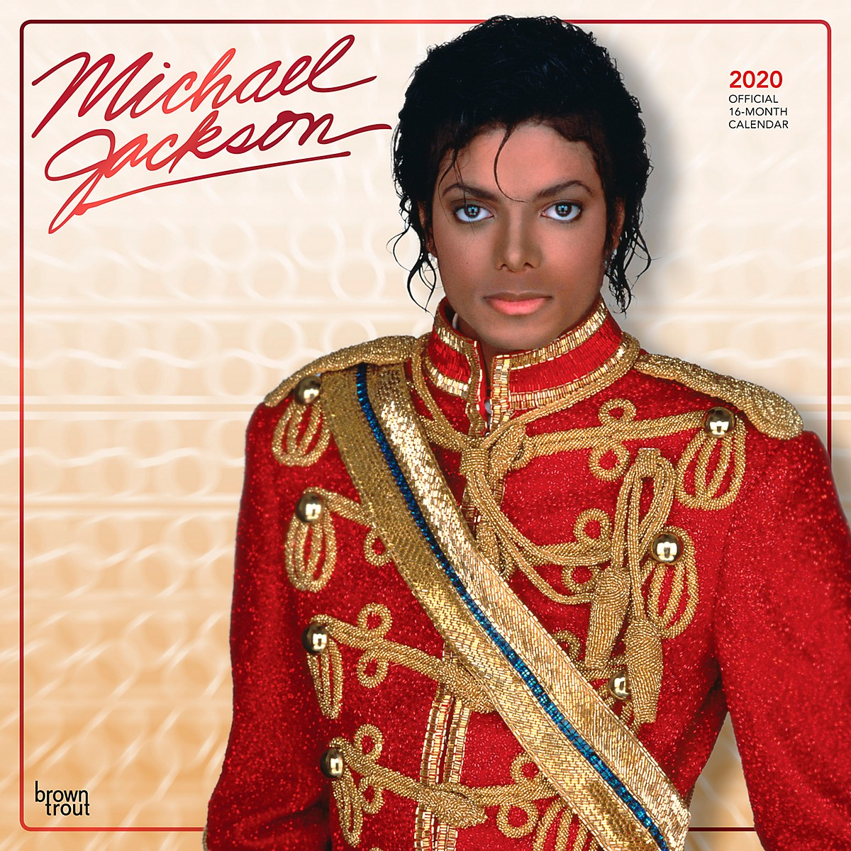 Browntrout Publishing Michael Jackson 2020 Calendar