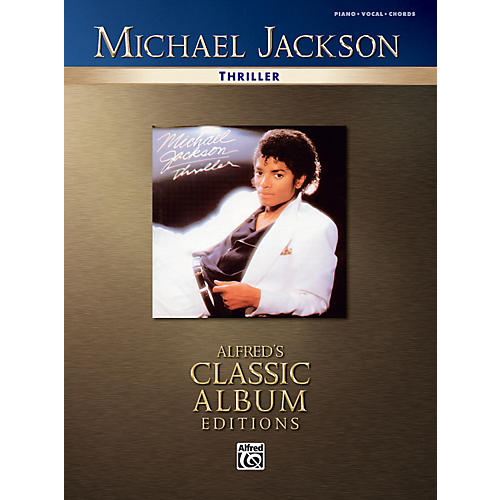 Alfred Michael Jackson Thriller Piano/Vocal/Chords