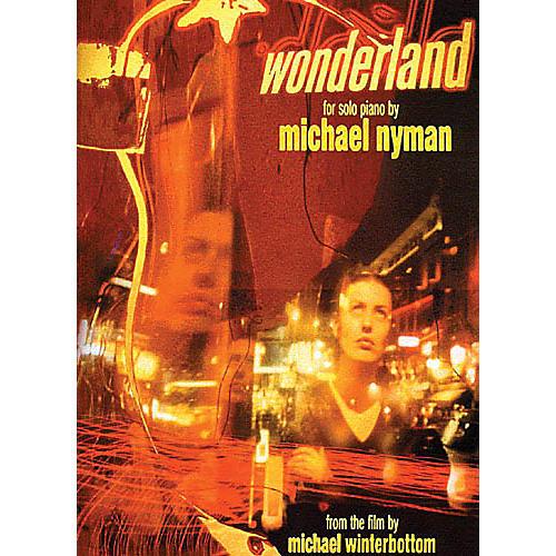 Music Sales Michael Nyman: Wonderland (Solo Piano) Music Sales America Series