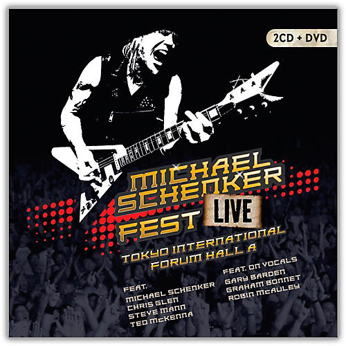 MVD Michael Schenker - Fest: Live Tokyo International Forum Hall A 2CD and DVD