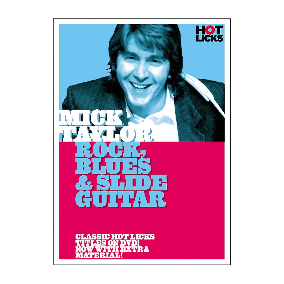 Hot Licks Mick Taylor: Rock Blues and Slide Guitar DVD