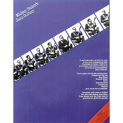 Music Sales Mickey Baker's Jazz Guitar Music Sales America Series Softcover Written by Mickey Baker