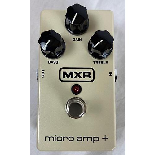 MXR Micro Amp + Effect Pedal