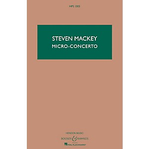 Click here to buy Boosey and Hawkes Micro-Concerto Percussionist and Mixed Quintet Boosey &... by Boosey and Hawkes.