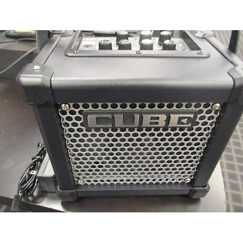 used roland micro cube gx guitar combo amp guitar center. Black Bedroom Furniture Sets. Home Design Ideas