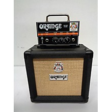 Orange Amplifiers Micro Dark MD20 With Cab Guitar Stack