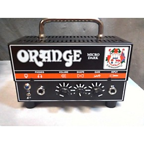 used orange amplifiers micro dark tube guitar amp head guitar center. Black Bedroom Furniture Sets. Home Design Ideas