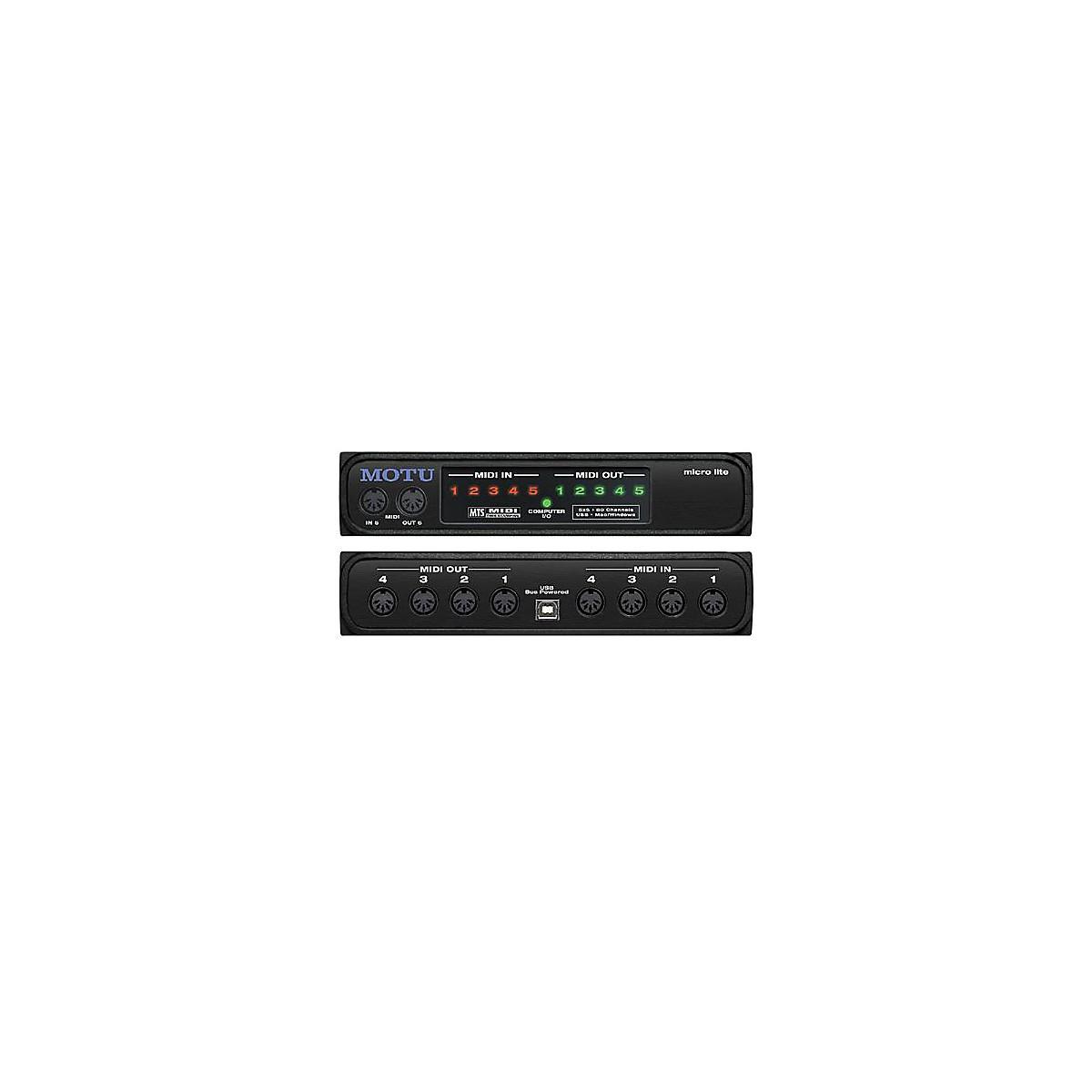 MOTU Micro Lite USB MIDI Interface