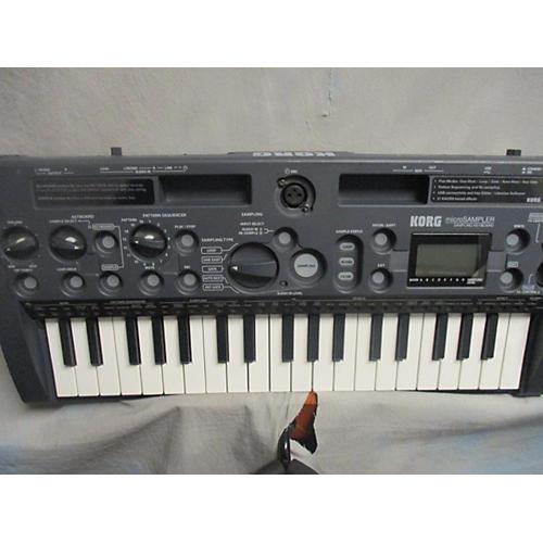 Korg Micro Sampler Synthesizer