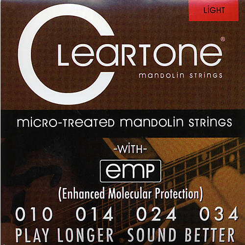 Cleartone Micro-Treated Light Mandolin Guitar Strings