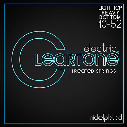 Cleartone Micro-Treated Light Top/Heavy Bottom Electric Guitar Strings