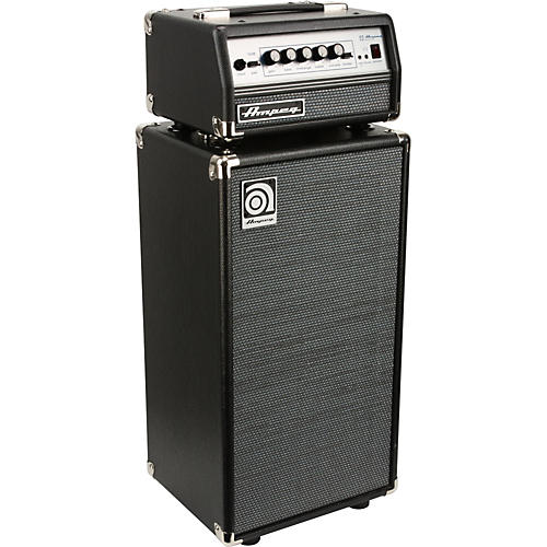 ampeg micro vr bass amp head and svt210av bass speaker cabinet stack guitar center. Black Bedroom Furniture Sets. Home Design Ideas