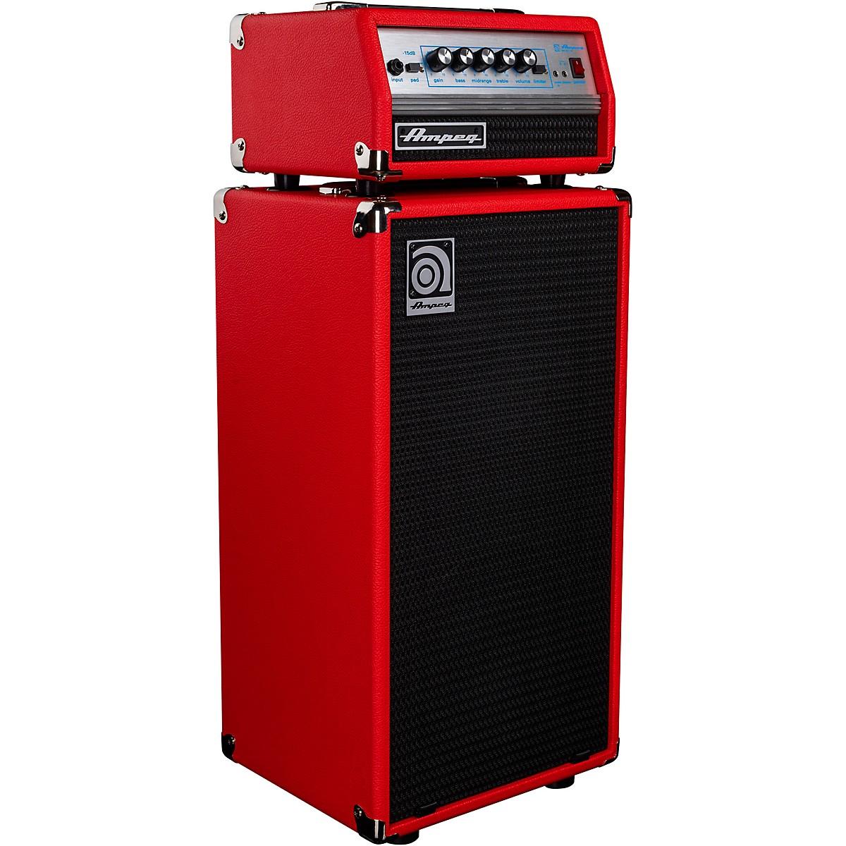 Ampeg Micro VR & SVT210AV Red Edition