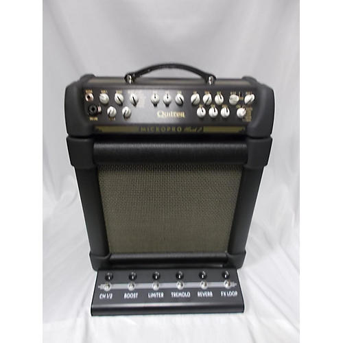 Quilter Labs MicroPro Mach 2 Head And Cab Guitar Stack
