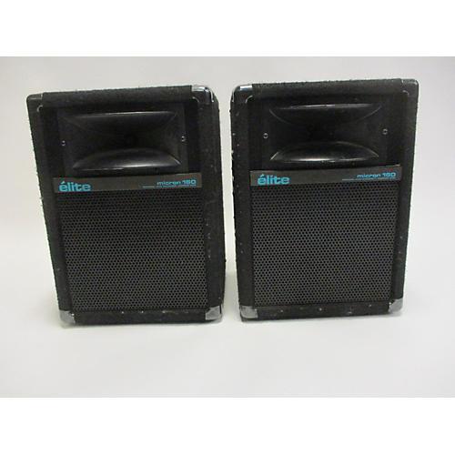 Elite Micron 160 Pair Unpowered Speaker