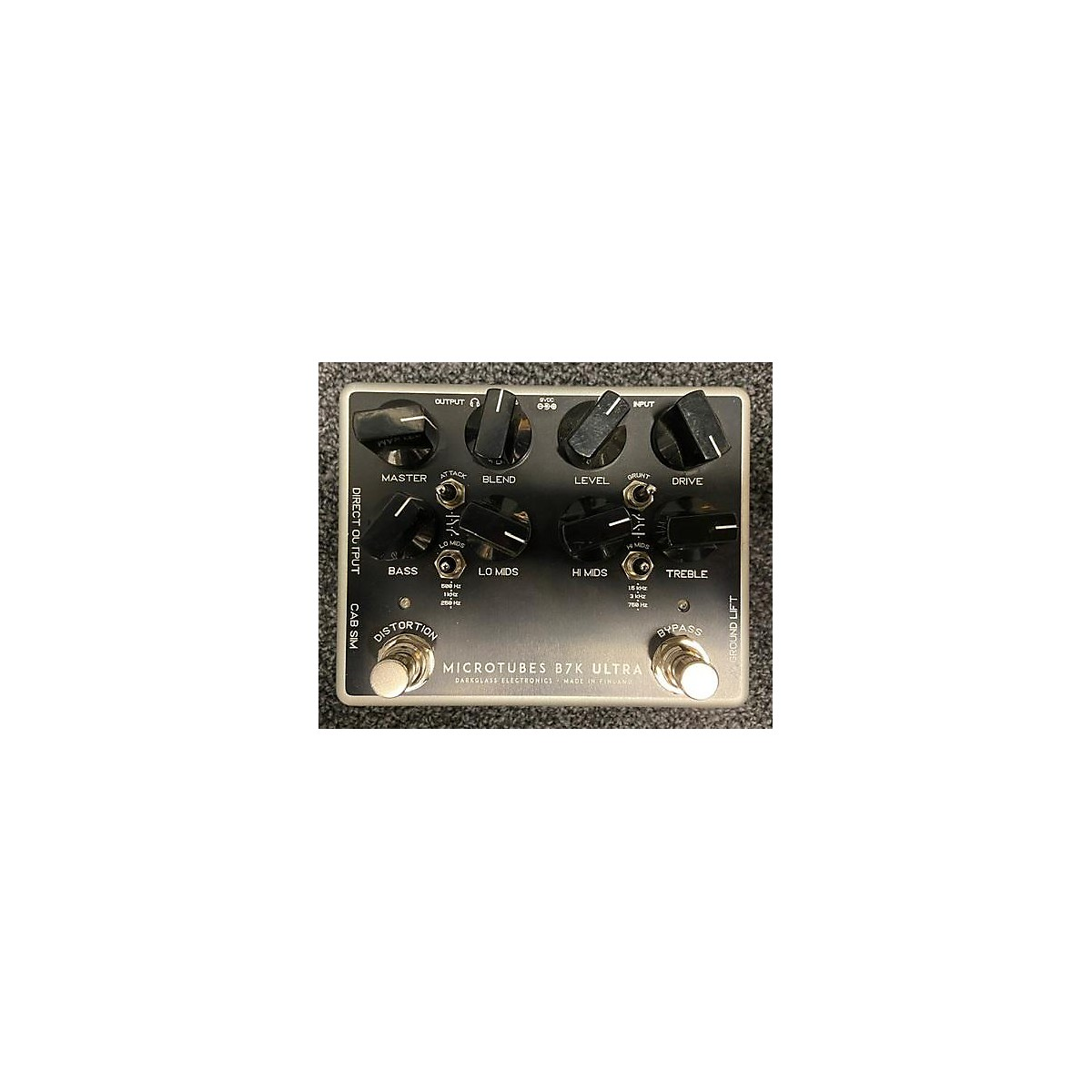 Darkglass Microtubes B7k Ultra Effect Pedal