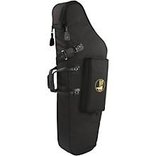 Gard Mid-Suspension AM Low A Baritone Saxophone Gig Bag Level 1 106B-MSK Black Synthetic w/ Leather Trim