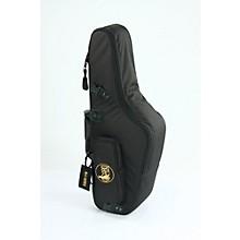 Mid-Suspension EM Alto Saxophone Gig Bag 104-MSK Black Synthetic w/ Leather Trim