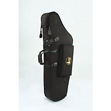 Mid-Suspension EM Low A Baritone Saxophone Gig Bag 106-MSK Black Synthetic w/ Leather Trim