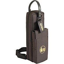 Mid-Suspension Flute & Piccolo Combination Gig Bag 162-MSK Black Synthetic w/ Leather Trim