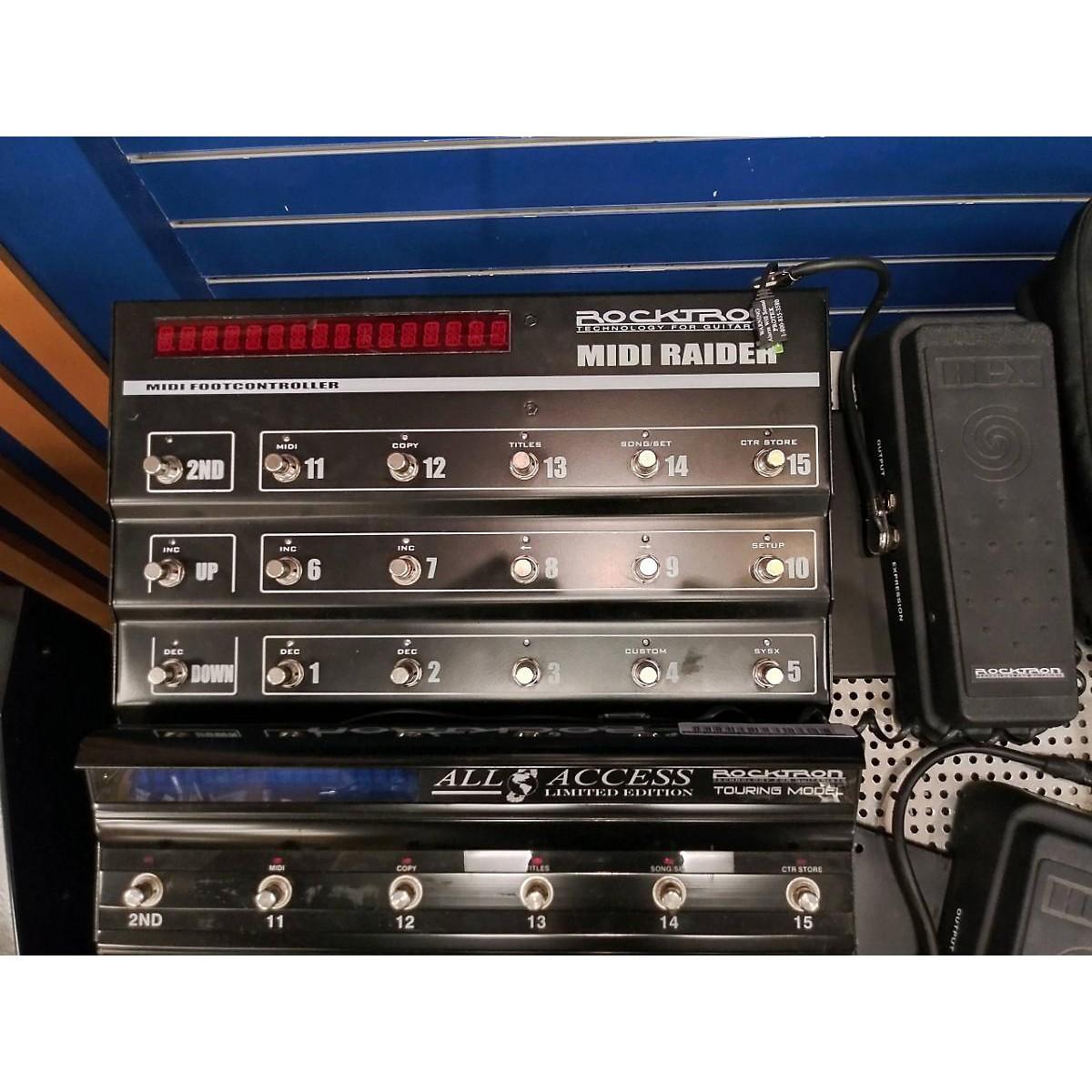 Rocktron Midi Raider MIDI Foot Controller