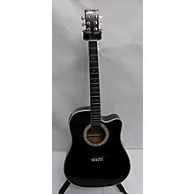 Esteban Midnight Steel Acoustic Guitar