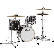 Pearl Midtown Series 4-Piece Shell Pack Level 1 Black Gold Sparkle
