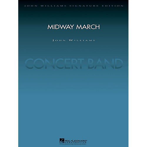 Hal Leonard Midway March (Deluxe Score) Concert Band Level 5 Arranged by Paul Lavender