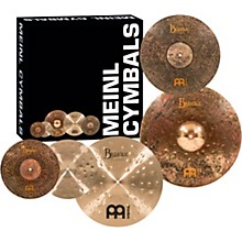 "Meinl Mike Johnston Byzance Cymbal Set with Free 18"" Byzance Extra Dry Thin Crash"