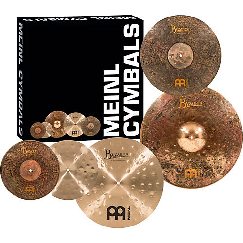 Meinl Mike Johnston Byzance Cymbal Set with Free 18