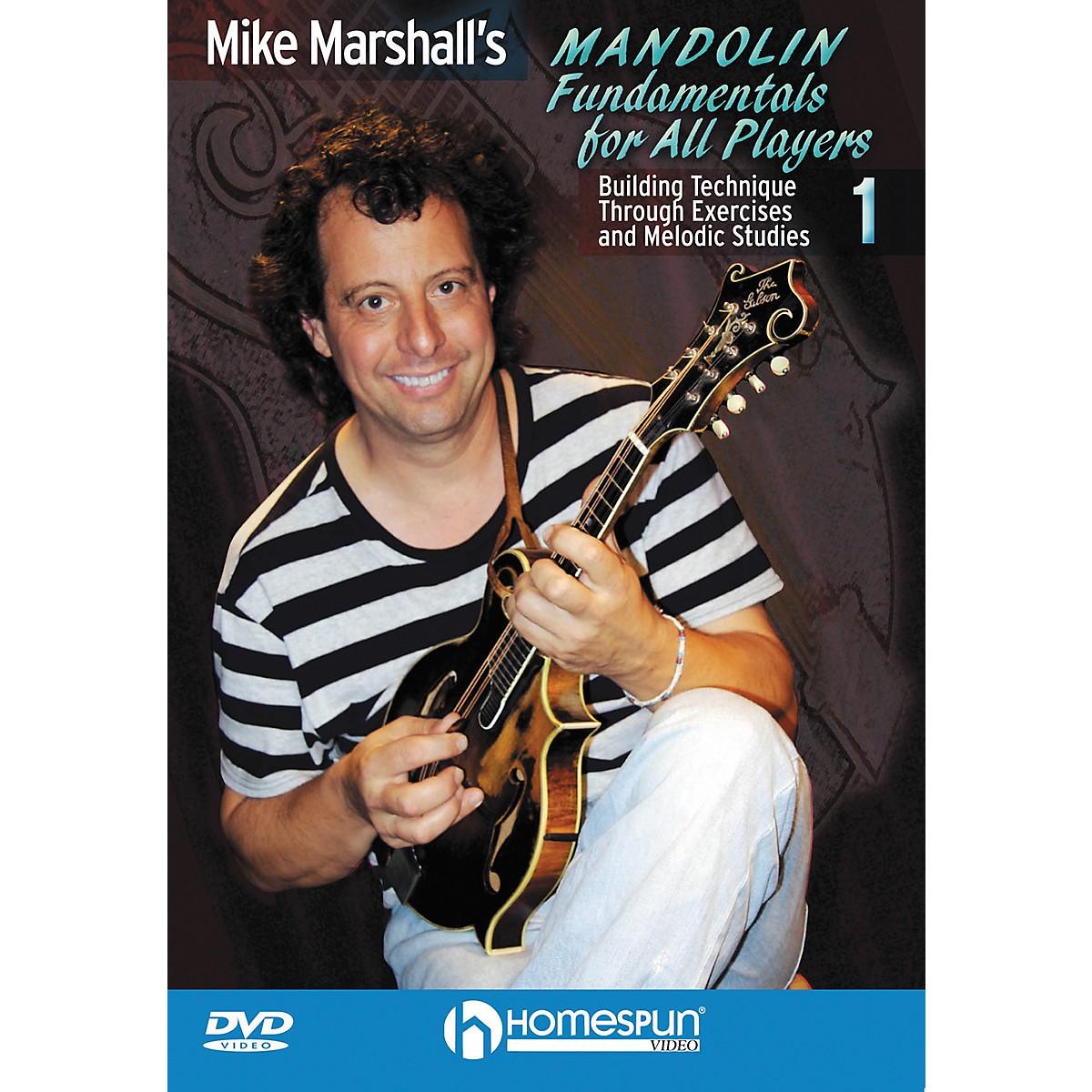 Homespun Mike Marshall's Mandolin Fundamentals For All Players DVD 1