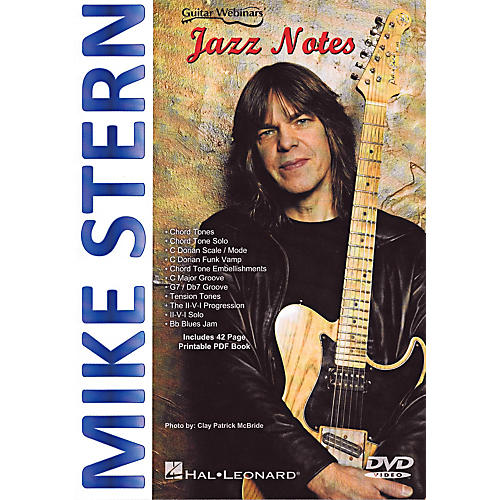 Hal Leonard Mike Stern - Jazz Notes DVD